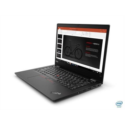 "Lenovo ThinkPad E14 20RA0051US 14"" Notebook - 1920 x 1080 - Core i3 i3-10110U - 4 GB RAM - 500 GB HDD - Black"