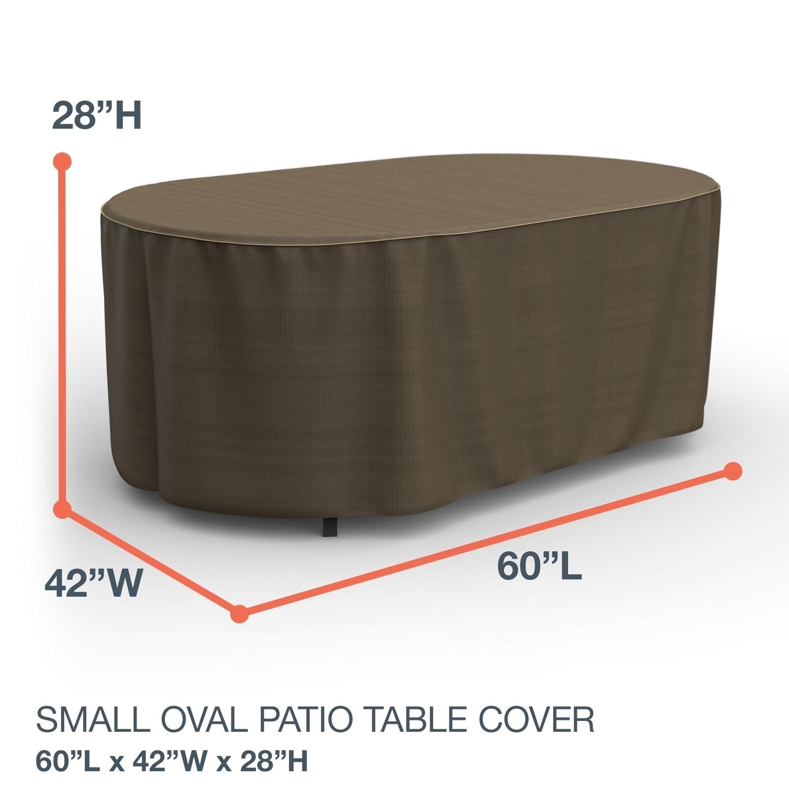 Budge Oval Waterproof Outdoor