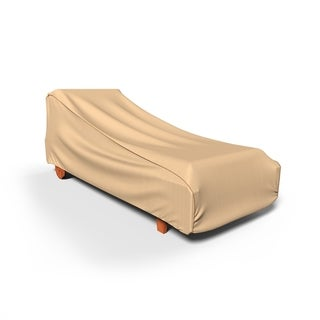 Link to Budge Waterproof Outdoor Patio Chaise Lounge Cover, Sedona, Tan, Multiple Sizes Similar Items in Patio Furniture
