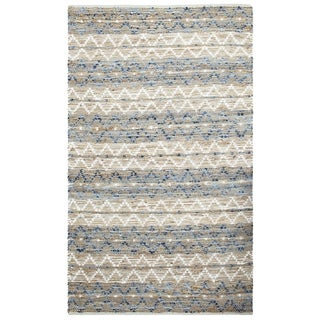 The Curated Nomad Rall Natural Fiber and Recycled Denim Area Rug