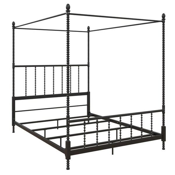 Avenue Greene Elliot Metal Canopy Bed. Opens flyout.