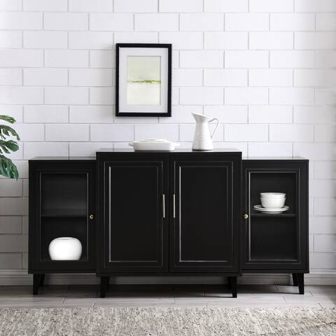 Carson Carrington 62-inch 4-Door Breakfront Modern Sideboard