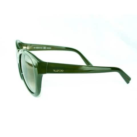 Valentino Khaki Women's Fashion Sunglasses - Medium