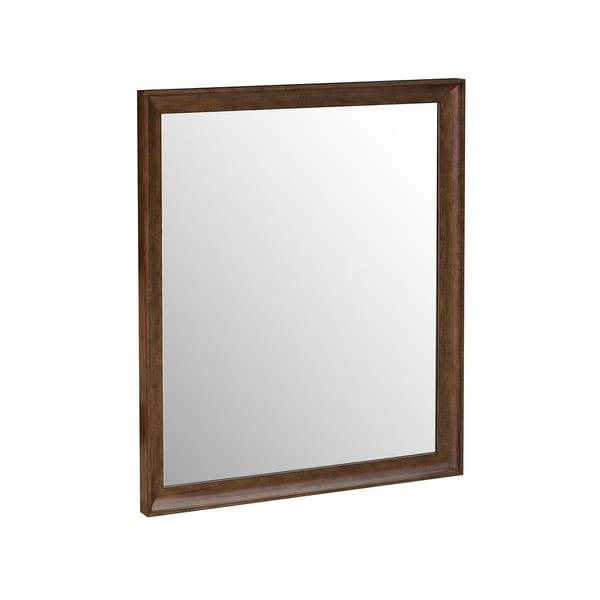 Knotty Walnut Dresser Mirror