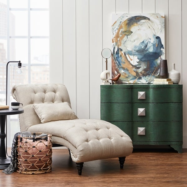 Vintage-Inspired Deep Emerald Green 3-drawer Accent Chest