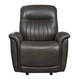 Curved Arm Manual Recliner Glider