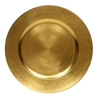 Link to Round Charger Dinner Plates, Gold 13 inch, Set of 1,2,4,6, or 12 Perfect for Christmas, Thanksgiving, Easter, Special Events Similar Items in Dinnerware