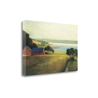 """Salt Water Farm"" By Sandy Wadlington, Fine Art Giclee Print on Gallery Wrap Canvas, Ready to Hang"