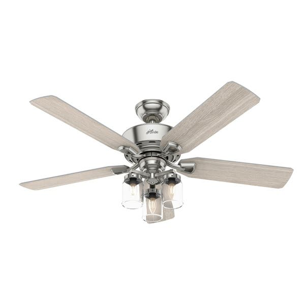 70 Inch Ceiling Fan Brushed Nickel
