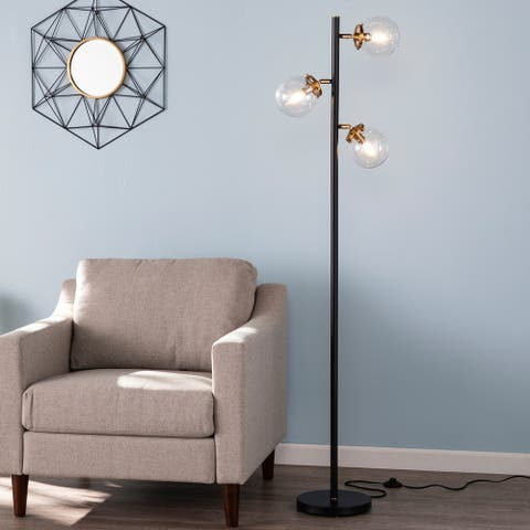 Holly & Martin Boltonly Contemporary 3-Light Globe Floor Lamp