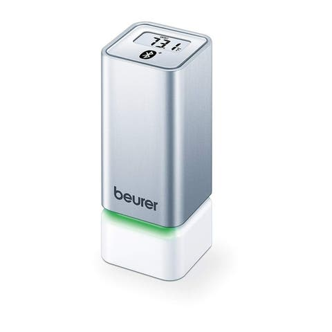 Beurer Wireless Thermometer and Hygrometer, Measures in Home Climate, Displays Results on app via Bluetooth, HM55