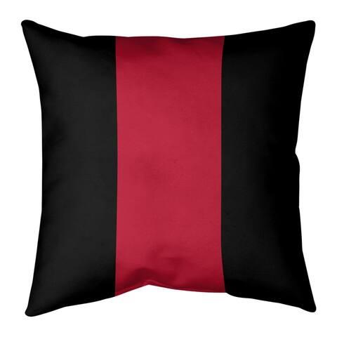 Atlanta Atlanta Throwback Football Stripes Floor Pillow - Standard
