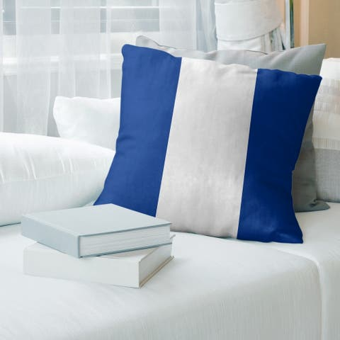 Buffalo Buffalo Football Stripes Floor Pillow - Standard