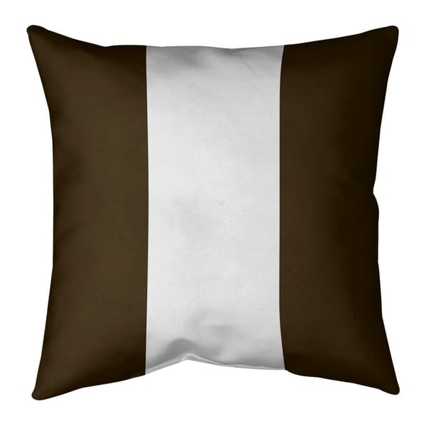 Cleveland Cleveland Football Stripes Pillow (Indoor/Outdoor)