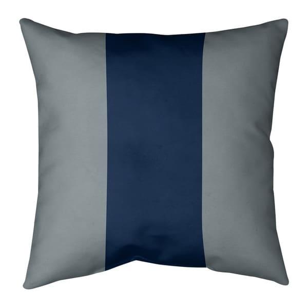 Dallas Dallas Football Stripes Pillow (Indoor/Outdoor)