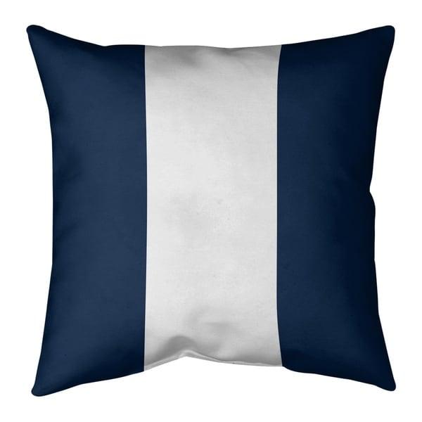 Dallas Dallas Football Stripes Pillow (w/Rmv Insert)-Spun Poly