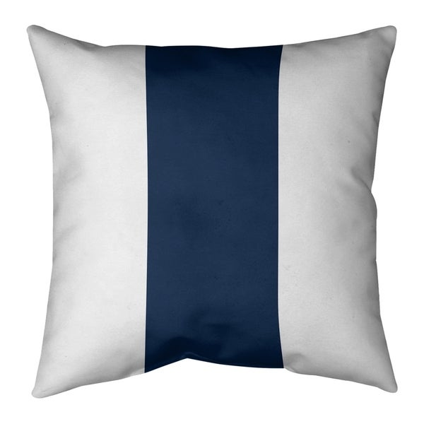 Dallas Dallas Football Stripes Pillow-Spun Polyester