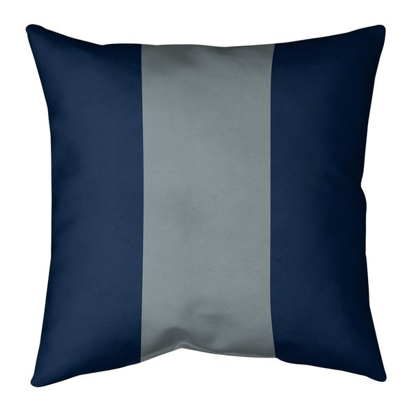 Dallas Dallas Football Stripes Pillow (w/Rmv Insert)-Spun Poly