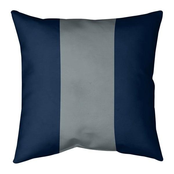 Dallas Dallas Football Stripes Pillow-Cotton Twill