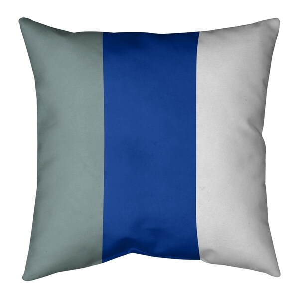 Dallas Dallas Football Stripes Floor Pillow - Standard