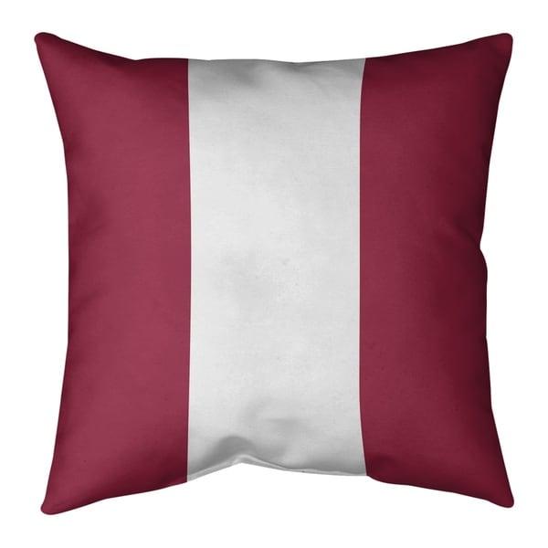 Arizona Arizona Football Stripes Floor Pillow - Standard