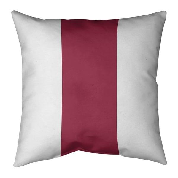 Arizona Arizona Football Stripes Pillow-Cotton Twill