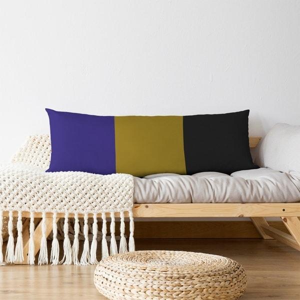 Baltimore Baltimore Football Stripes Body Pillow (w/Rmv Insert)