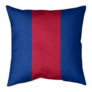 Buffalo Buffalo Football Stripes Pillow (w/Rmv Insert)-Spun Poly