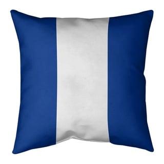 Buffalo Buffalo Football Stripes Pillow-Faux Suede