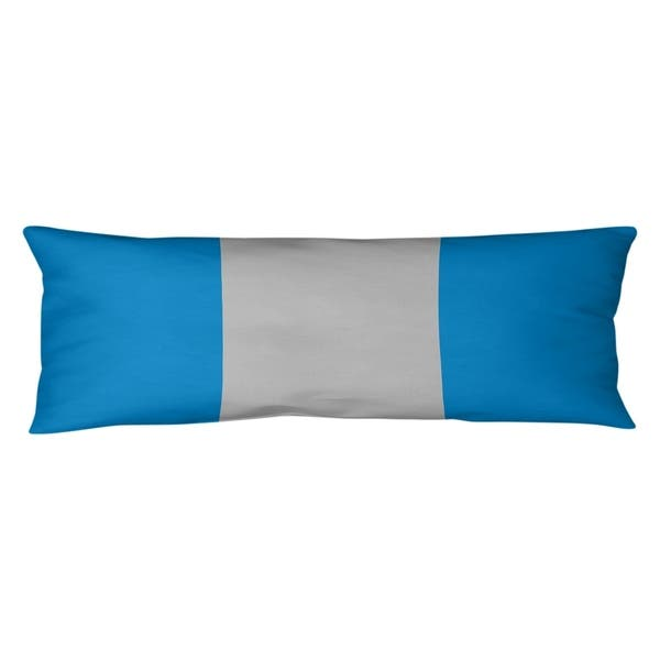 Carolina Carolina Football Stripes Body Pillow W Rmv Insert On Sale Overstock 30282895