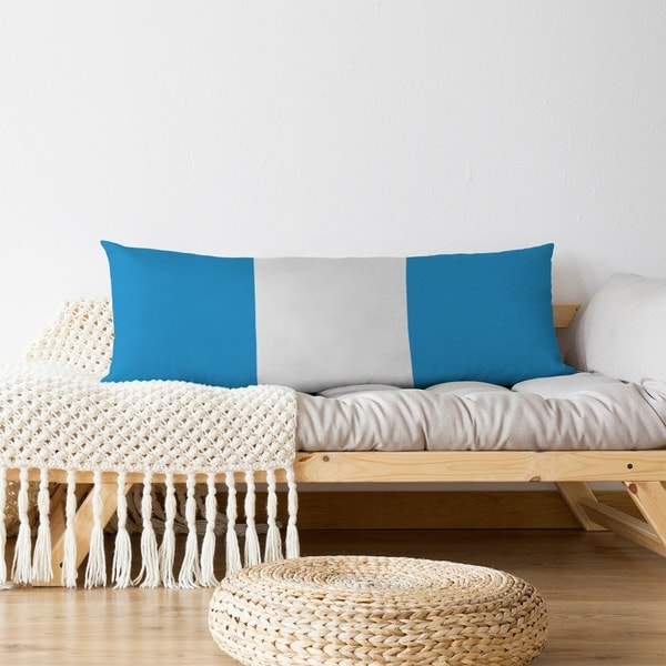 Carolina Carolina Football Stripes Body Pillow (w/Rmv Insert)