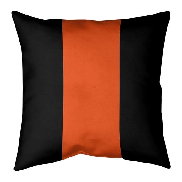 Cincinnati Cincinnati Football Stripes Pillow-Spun Polyester
