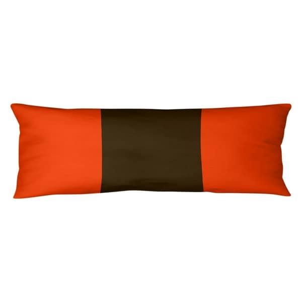 Cleveland Cleveland Football Stripes Body Pillow (w/Rmv Insert)