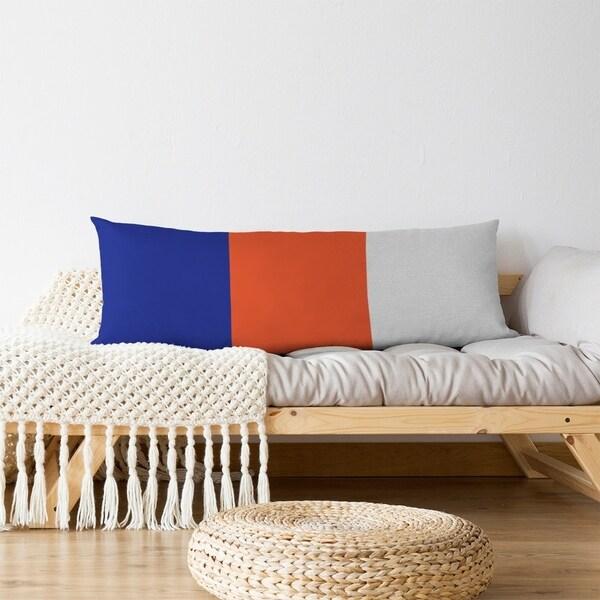 Denver Denver Throwback Football Stripes Body Pillow (w/Rmv Insert)