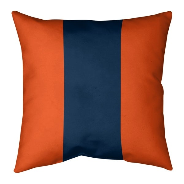 Denver Denver Football Stripes Pillow (Indoor/Outdoor)