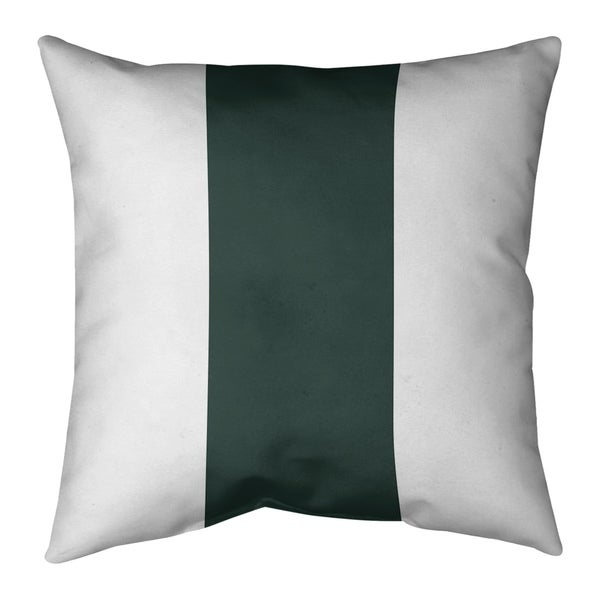 Green Bay Green Bay Football Stripes Pillow (w/Rmv Insert)-Spun Poly