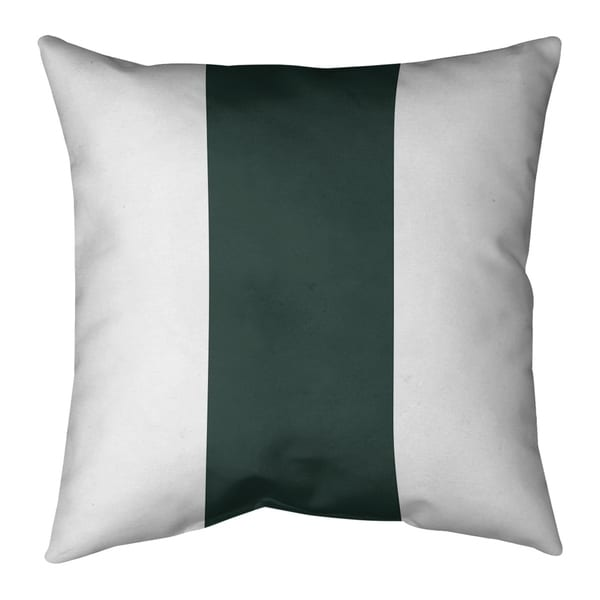 Green Bay Green Bay Football Stripes Pillow-Spun Polyester