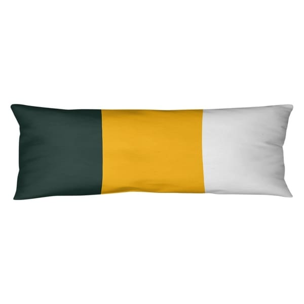 Green Bay Green Bay Football Stripes Body Pillow (w/Rmv Insert)