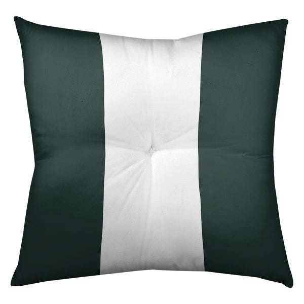 Green Bay Green Bay Football Stripes Floor Pillow - Square Tufted