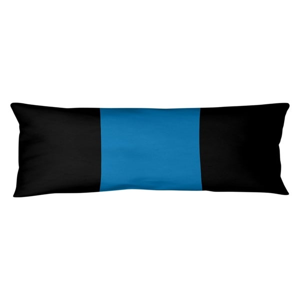Detroit Detroit Football Stripes Body Pillow (w/Rmv Insert)