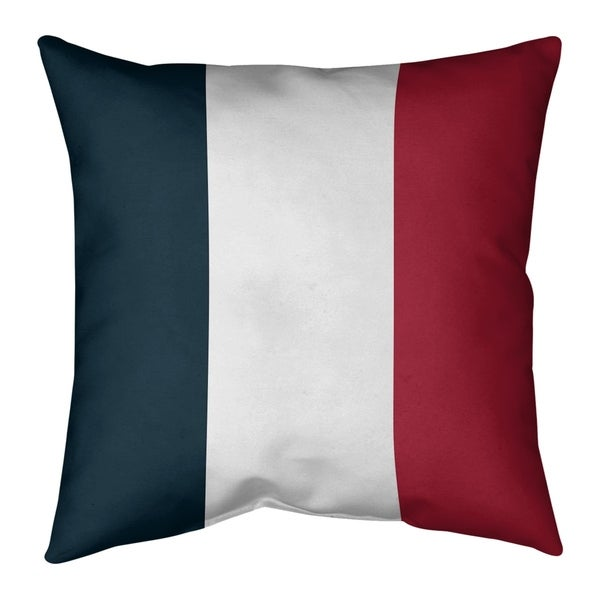 Houston Houston Football Stripes Pillow-Spun Polyester