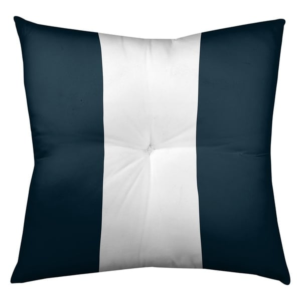 Houston Houston Football Stripes Floor Pillow - Square Tufted