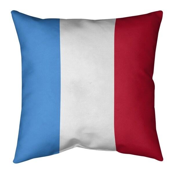 Houston Houston Throwback Football Stripes Pillow-Spun Polyester