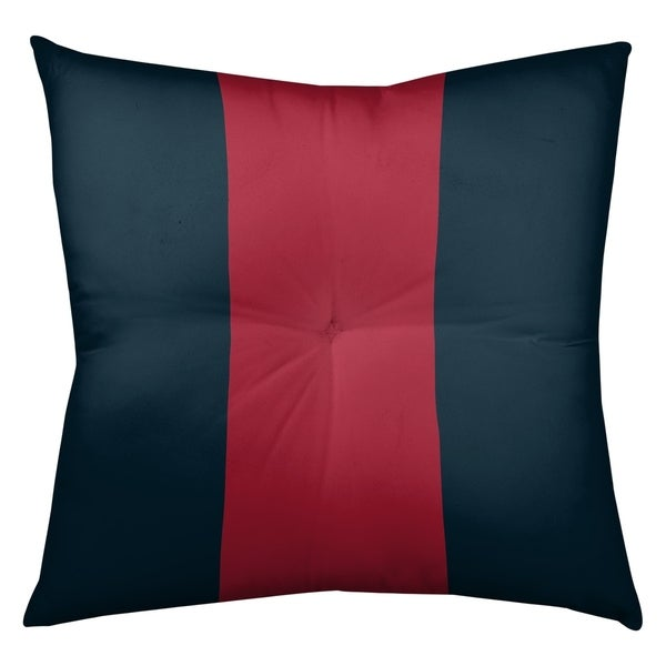 Houston Houston Football Stripes Floor Pillow - Square Tufted