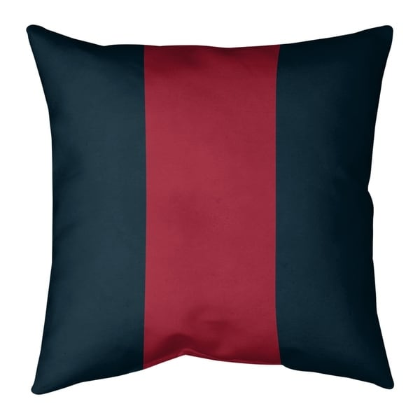 Houston Houston Football Stripes Pillow (Indoor/Outdoor)