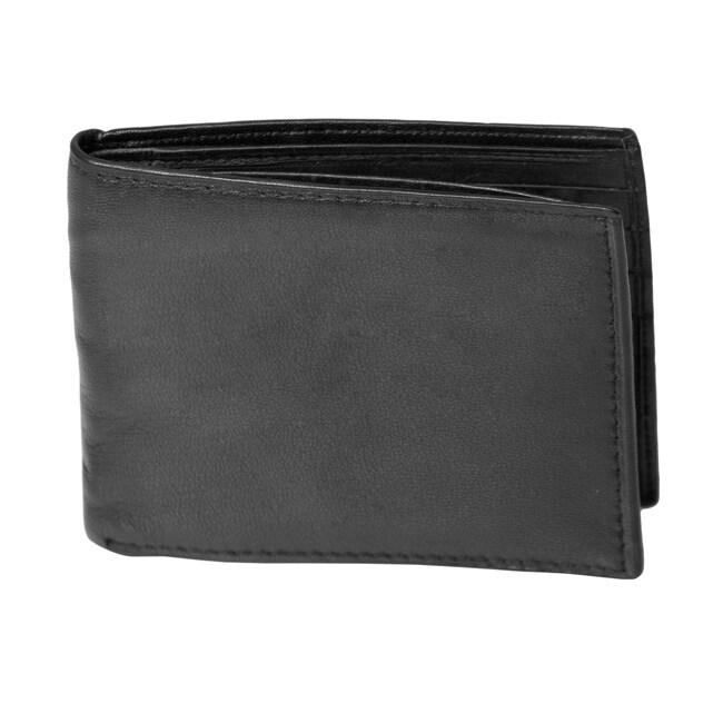Alexander Julian Colours Leather Bi-fold Wallet