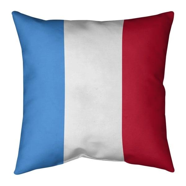 Houston Houston Throwback Football Stripes Pillow (Indoor/Outdoor)
