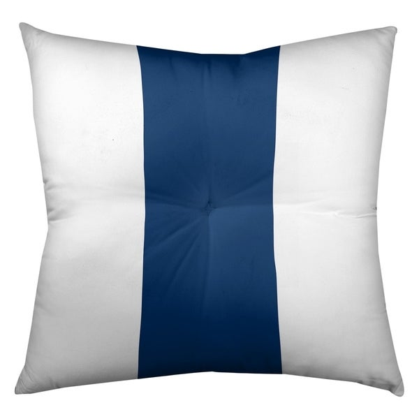 Indianapolis Indianapolis Football Stripes Floor Pillow - Square Tufted