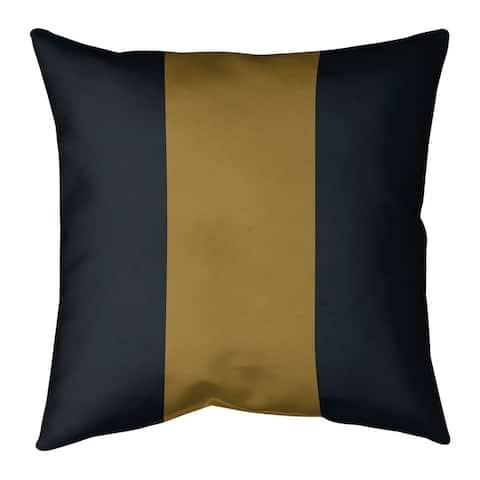 Jacksonville Jacksonville Football Stripes Floor Pillow - Standard