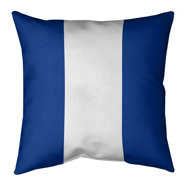 Indianapolis Indianapolis Football Stripes Pillow-Faux Suede